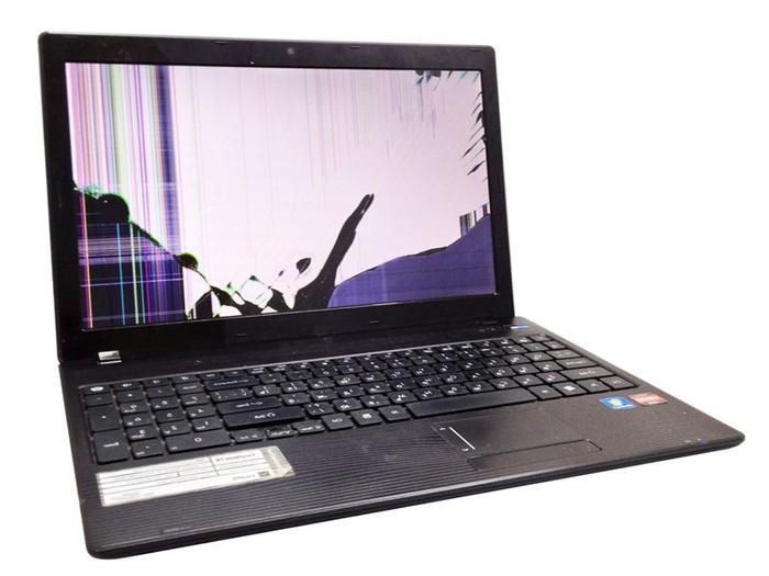 Замена экрана ноутбука в Красноярске.