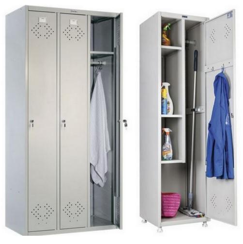 Шкаф металлические офисный для одежды