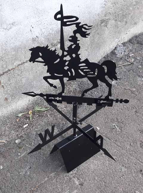Флюгер Рыцарь 800x900mm
