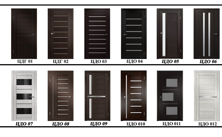 Царговые межкомнатные двери от производителя